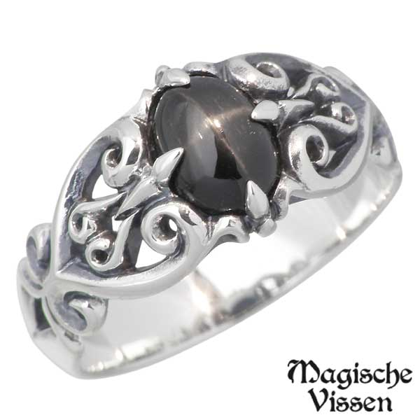 Magische Vissen【マジェスフィッセン】 シルバー リング ストーン 指輪 5~17号 シルバーアクセサリー シルバー925 OZR-001