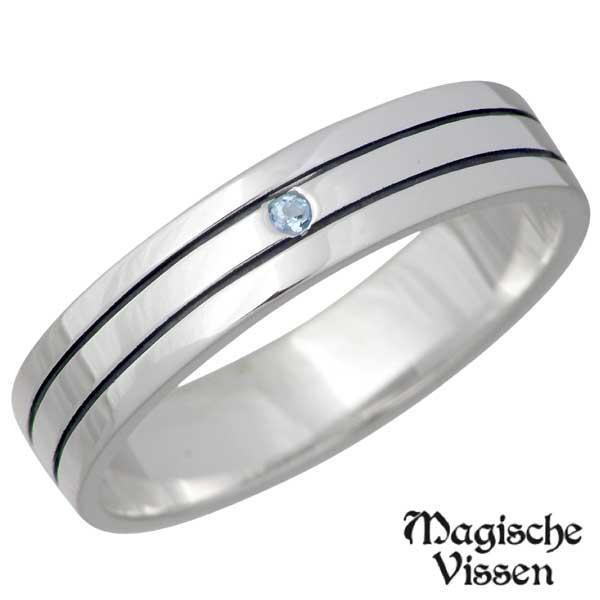 マジェスフィッセン Magische Vissen シルバー リング ストーン メンズ 指輪 アクセサリー 1~25号 シルバー925 スターリングシルバー OZR-027