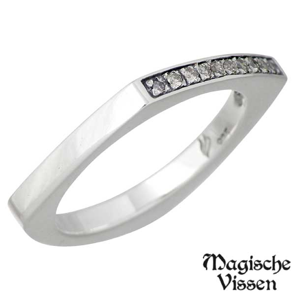 Magische Vissen【マジェスフィッセン】 プチプチダイヤ シルバー リング ダイヤモンド レディース 指輪 アクセサリー 7~13号 シルバー925 スターリングシルバー OZR-071