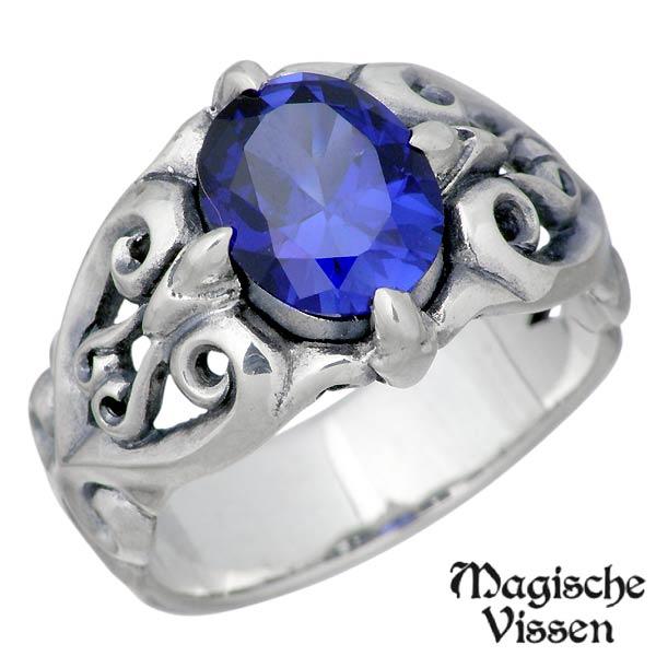 Magische Vissen【マジェスフィッセン】 マジェス シルバー リング ストーン 指輪 15~25号 シルバーアクセサリー シルバー925 OZR-111
