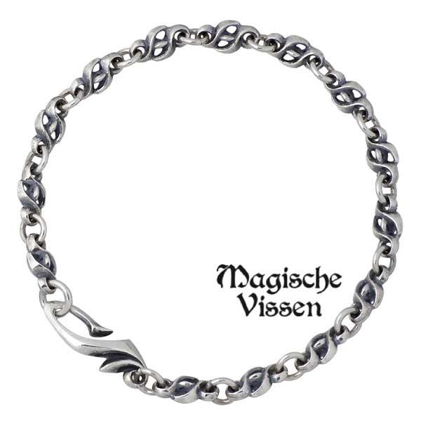 Magische Vissen【マジェスフィッセン】 シルバー ブレスレット アクセサリー メンズ シルバー925 スターリングシルバー OZX-055