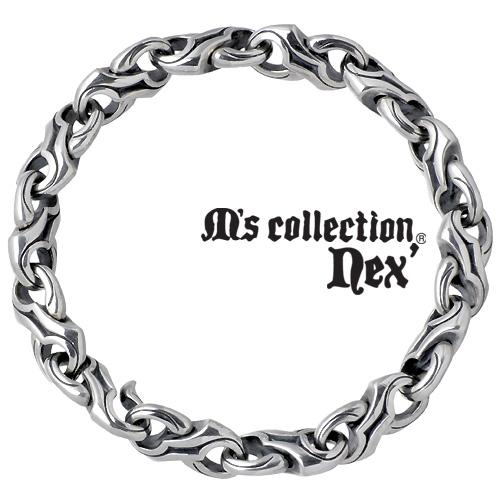 M's collection【エムズコレクション】 シルバー ブレスレット アクセサリー メンズ シルバー925 スターリングシルバー L-542