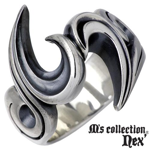 M's collection【エムズコレクション】 シルバー リング メンズ 15~21号 指輪 アクセサリー シルバー925 スターリングシルバー MAO-003