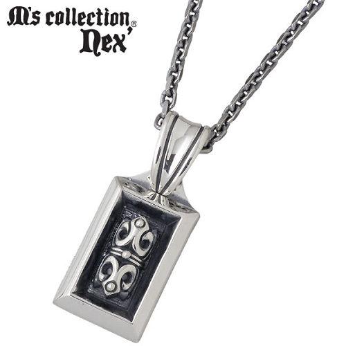 M's collection【エムズコレクション】 シルバー ネックレス アクセサリー チェーン付き シルバー925 スターリングシルバー MC-830