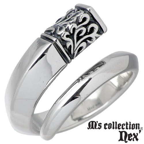 M's collection【エムズコレクション】 ストーン シルバー リング 11~19号 指輪 アクセサリー シルバー925 スターリングシルバー X0092