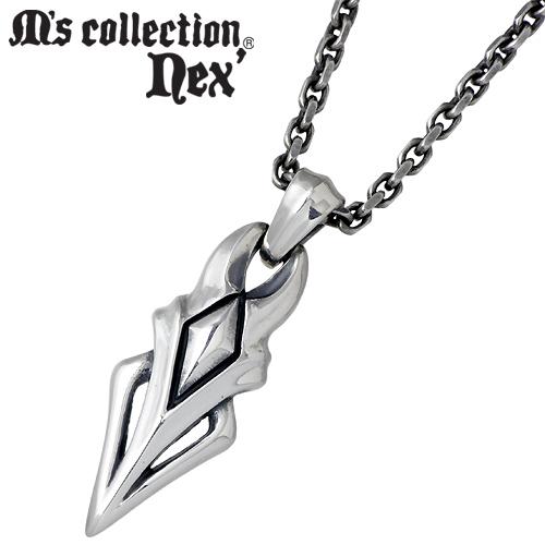 M's collection nex'【エムズコレクション】 シルバー ネックレス チェーン付き シルバーアクセサリー シルバー925 X0128
