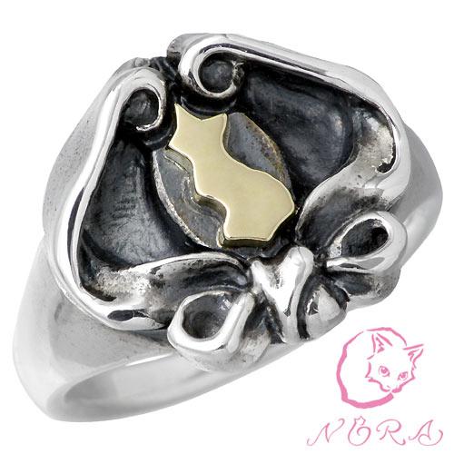 NORA【のら ノラ】 アキュレイション ネコ シルバー リング 指輪 シルバーアクセサリー シルバー925 NR-R-0021