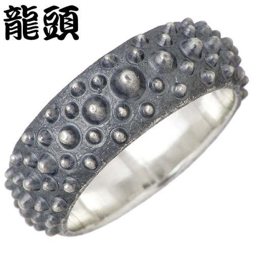RYUZU【龍頭】 霰 あられ シルバー リング VER2 指輪 アクセサリー 12~28号 シルバー925 スターリングシルバー シルバー950 RYUZU-R-63
