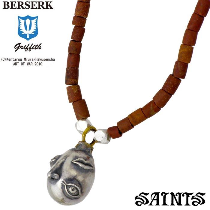 SAINTS【セインツ】BERSERK×SAINTS ベヘリット シルバー ネックレス 覇王 メンズ BSS-P-01