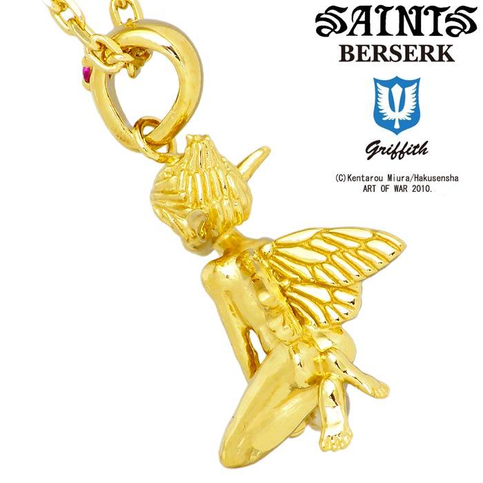 セインツxベルセルク BERSERK×SAINTS 妖精パック シルバー ネックレス メンズ ゴールド シルバーアクセサリー アクセ ギフト プレゼント BSS P 12GDOn0w8Pk
