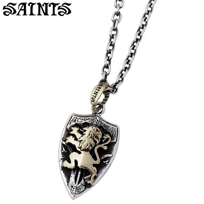SAINTS【セインツ】 聖盾 シルバー ネックレス シルバーアクセサリー シルバー925 SSP8-94