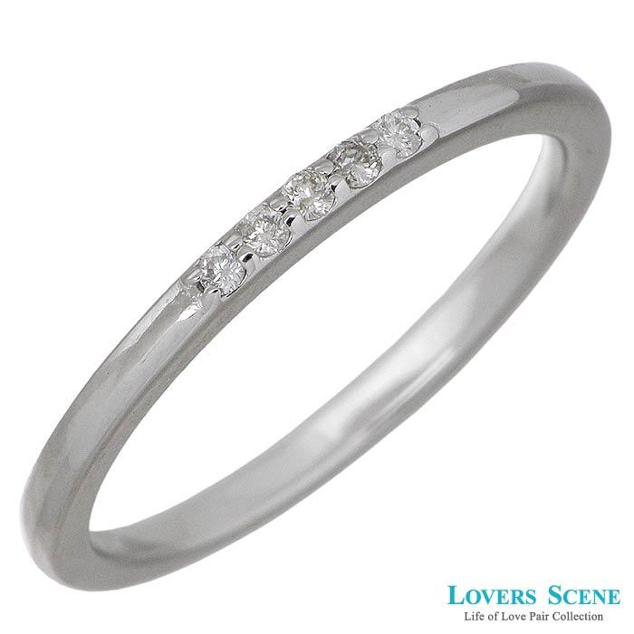 LOVERS SCENE【ラバーズシーン】シルバー リング 指輪 ダイヤモンド レディース 7~15号 LSR-0124DRM
