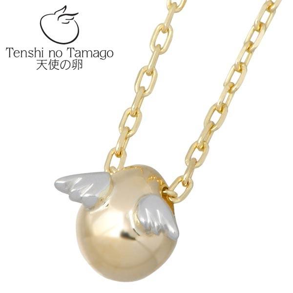 Tenshi no Tamago【天使の卵】 天使の卵 K10 イエロー & ホワイトゴールド ネックレス アクセサリー 天使199 tenshi-199