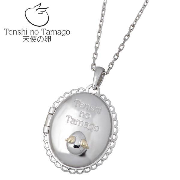 Tenshi no Tamago【天使の卵】 天使の卵 ロケット シルバー ネックレス ロジウム加工 天使893RM シルバーアクセサリー シルバー925 シルバー950 tenshi-893RM
