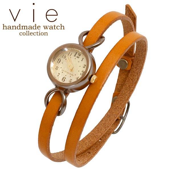 vie【ヴィー】 handmade watch 手作り 腕時計 ハンドメイド ウォッチ レディース WB-066-WL-005