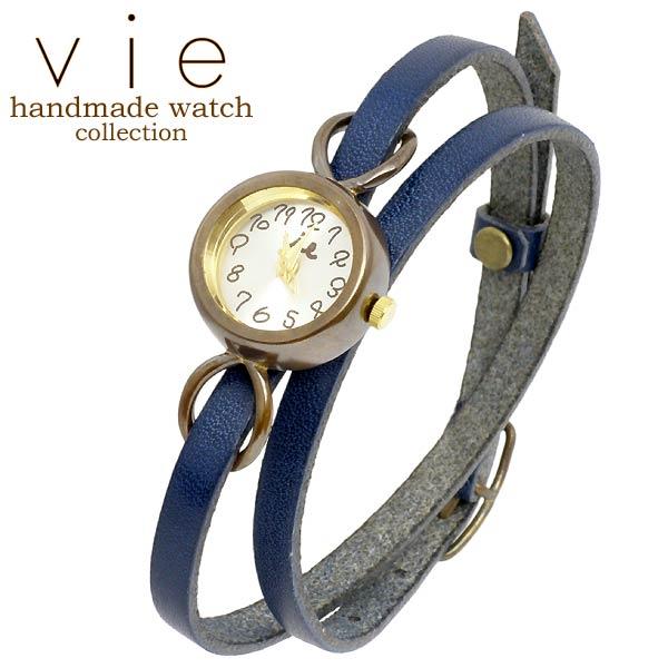 vie【ヴィー】 handmade watch 手作り 腕時計 ハンドメイド ウォッチ レディース WB-067-WL-005