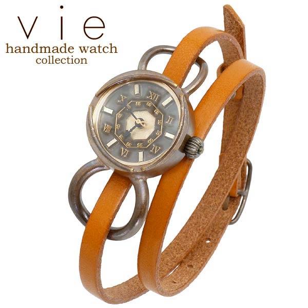 vie【ヴィー】 handmade watch 手作り 腕時計 ハンドメイド ウォッチ レディース WB-075-WL-005
