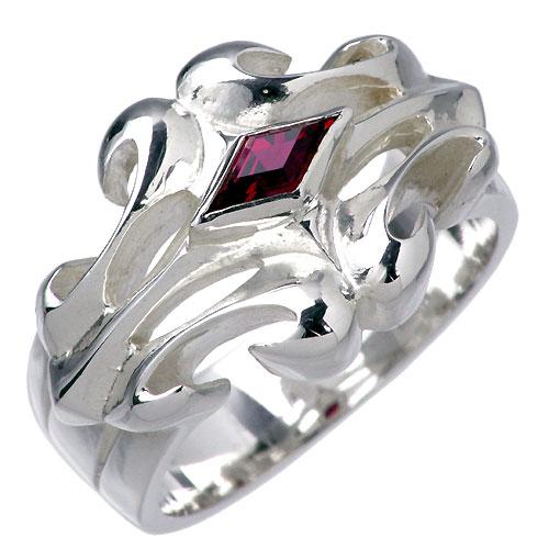 WOLFMAN B.R.S【ウルフマン B.R.S】 ホワイトファング シルバー リング ストーン 指輪 アクセサリー シルバー925 スターリングシルバー WO-R-018ST