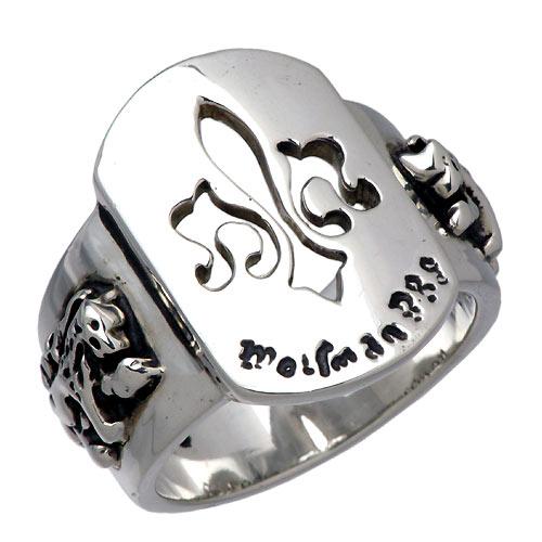 WOLFMAN B.R.S【ウルフマン B.R.S】 セイント フレア シルバー リング 指輪 シルバーアクセサリー シルバー925 WO-R-029