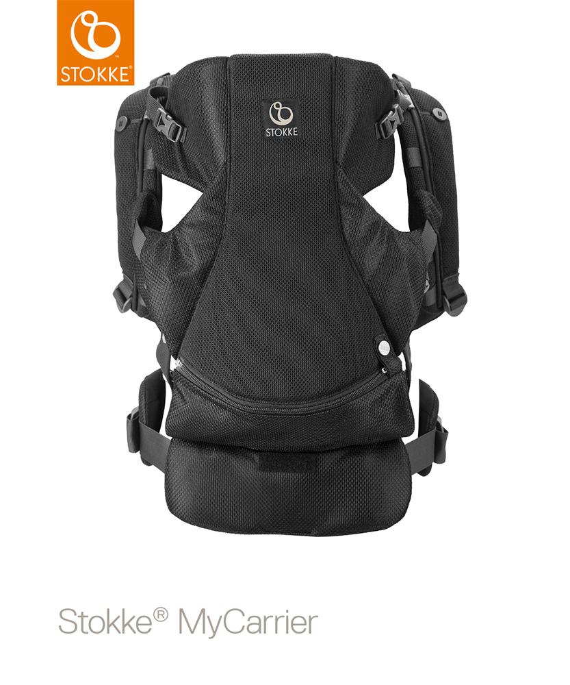 STOKKE(ストッケ) マイキャリア フロント&バック ブラックメッシュ|抱っこ紐|ストッケ正規販売店