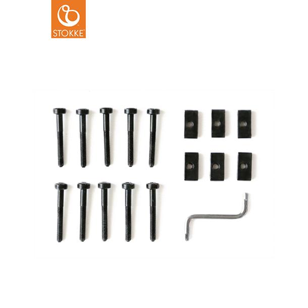 ◇限定Special Price STOKKE ストッケ正規販売店 ストッケのハイチェア TRIPPTRAPPトリップトラップのパーツ 豪華な ネジセット ハイチェア トリップトラップ 黒 \ママ割エントリで+P2倍
