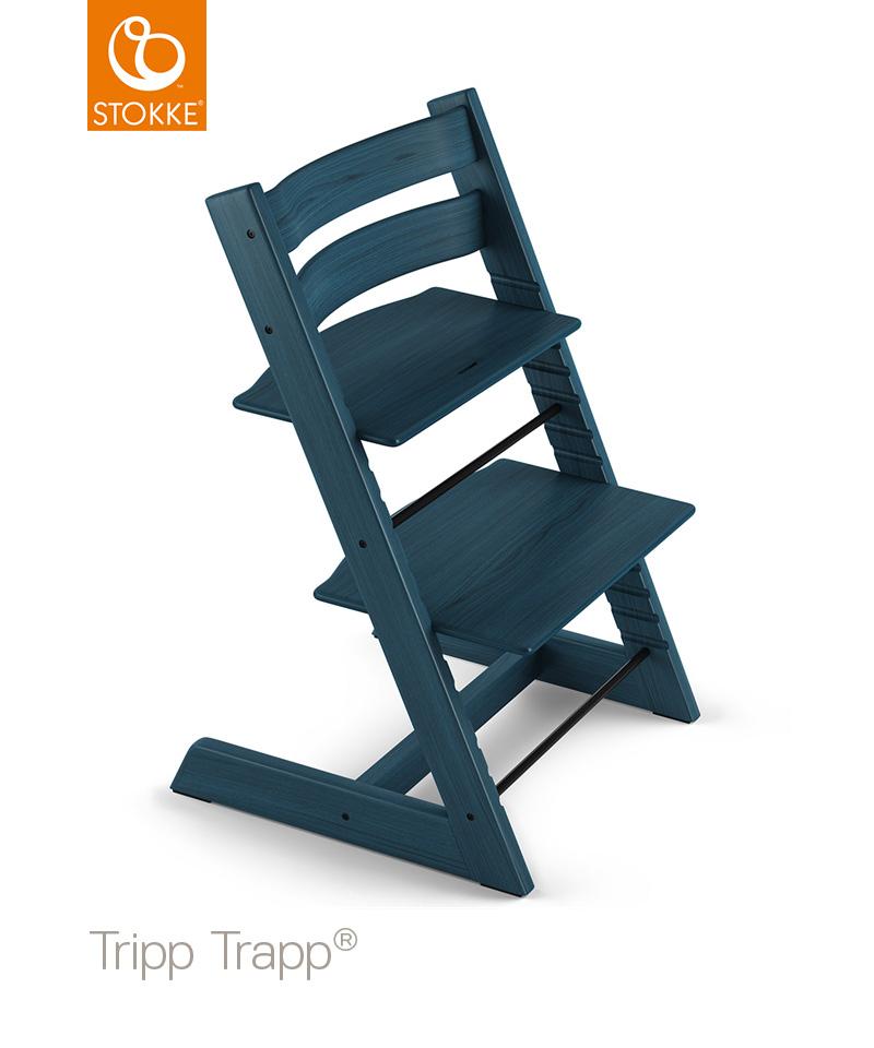 【ストッケ正規販売店】ストッケ トリップトラップ ミッドナイトブルー|ハイチェア|Stokke Tripp Trapp Chair 【送料無料】★