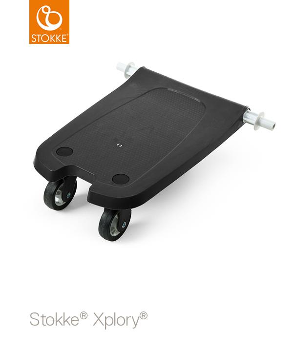 STOKKE エクスプローリー ライダー ブラック|ベビーカー用バギーボード|ストッケ正規販売店★