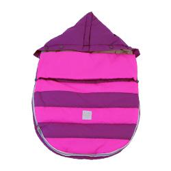 【取寄品】7AMENFANT(セブンエイエムアンファン) Bee Pod ベビーカーフットマフ Grape/Neon Pink 6-18M|フットマフ