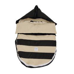 【取寄品】7AMENFANT(セブンエイエムアンファン) Bee Pod ベビーカーフットマフ Black/Beige 6-18M 【送料無料】★