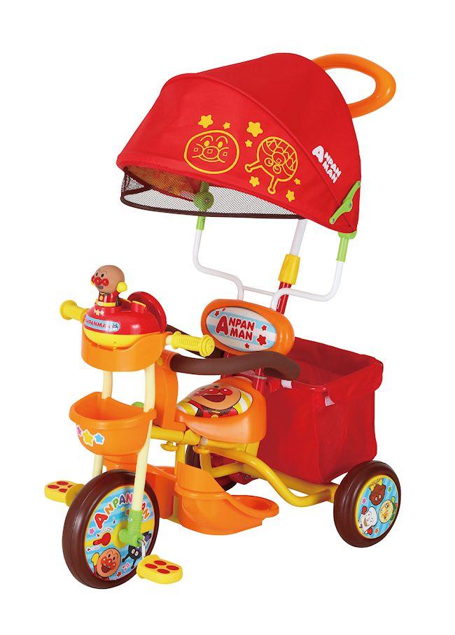 【送料無料】三輪車 それいけ!アンパンマン デラックス2  オレンジ