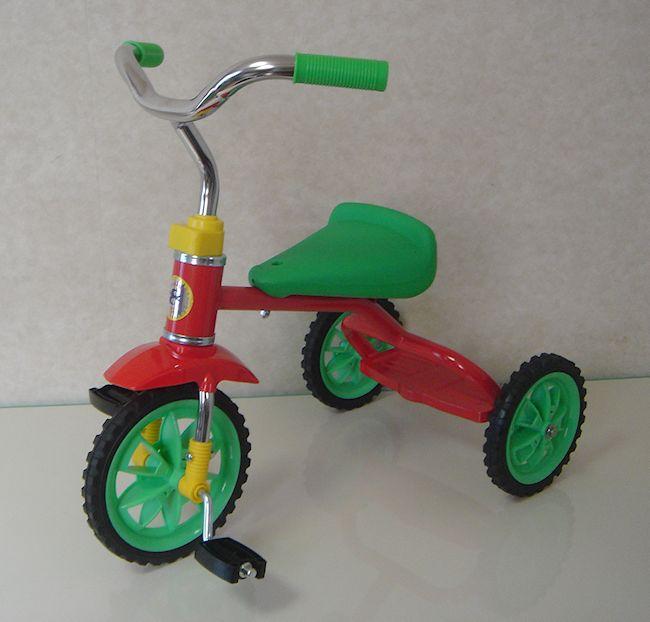 メイルオーダー 三輪車 人気 豆ダッシュ レッド