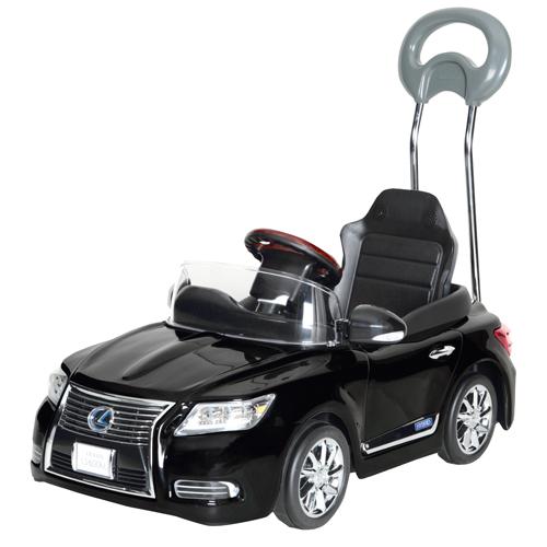 【送料無料】押手付ペダルカー ニューレクサス NEW LEXUS LS600hL スターライトブラック