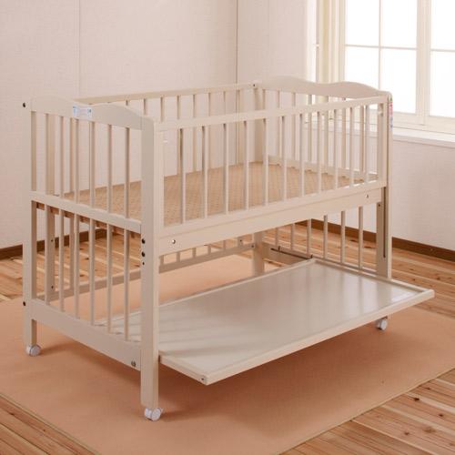 「アン」 ベビーベッド ハイタイプ キンタロー 日本製 赤ちゃんベッド