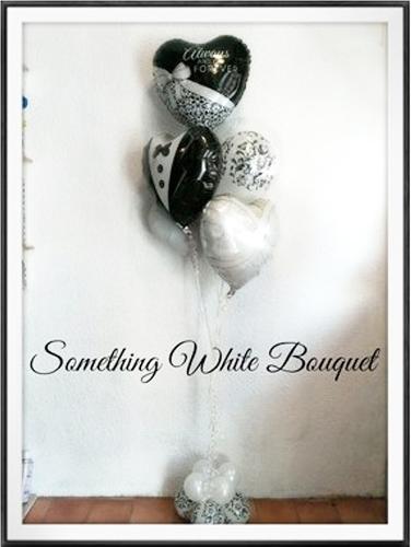 バルーン 記念日 サプライズ オリジナル 電報 装飾 プレゼント メッセージ 名入れ 文字入れ おしゃれ ギフト バースデー アート 誕生日 出産祝い 開店祝い パーティ 風船 バルーン ギフト サムシングホワイト ブーケ