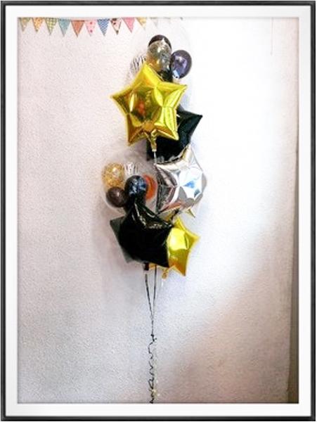 バルーン 記念日 サプライズ オリジナル 電報 装飾 プレゼント メッセージ 名入れ 文字入れ おしゃれ ギフト バースデー アート出産祝い 開店祝い お祝い パーティ 風船 バルーン ギフト かっこいい☆アニマルブーケ