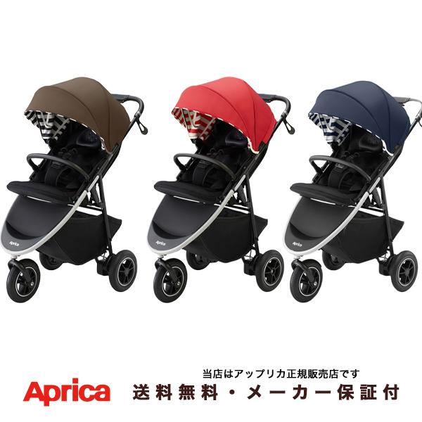 【Apricaアップリカ正規販売店】スムーヴAD スタンダードモデル(SMOOOVE AD)3輪バギー・ベビーカー・空気入れ不要タイヤ