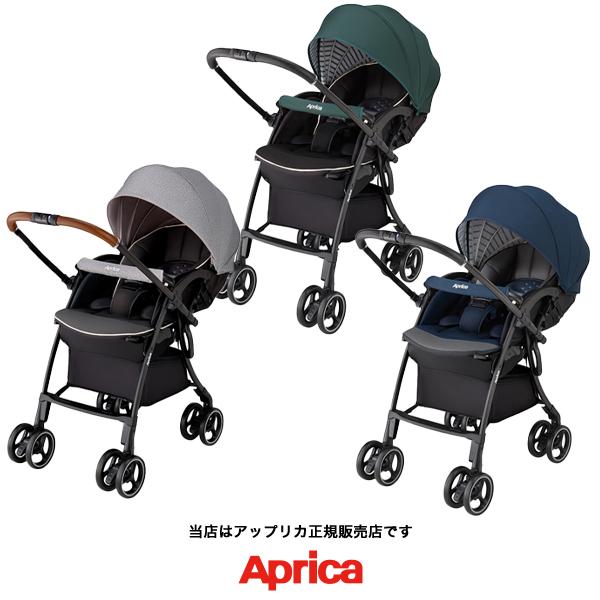 【Apricaアップリカ正規販売店】ラクーナクッション(LUXUNA Cushion)軽量ベビーカー・オート4輪・両対面ベビーカー・振動吸収