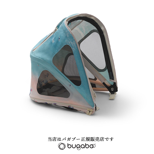 【bugabooバガブー正規販売店】ビー5ブリージーサンキャノピーbyグレイマリンBreezy Suncanopy by Gray Malin For Bee5/Bee3(ビー3と互換性あり)(80620GN01)