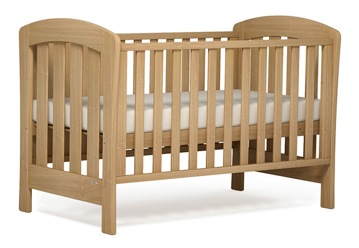 【BOORI ブーリ】木製ベビーベッド 「6歳までベッド」 Sunshine サンシャイン UJ-SUOBD (アーモンド)