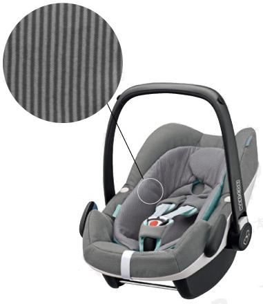 【Maxi-cosi マキシコシ・GMP正規販売店】Maxi-Cosi PebblePlus マキシコシ ペブルプラス (コンクリートグレイ)【新生児から使えるカーシート】