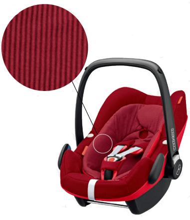 【Maxi-cosi マキシコシ・GMP正規販売店】Maxi-Cosi PebblePlus マキシコシ ペブルプラス (ロビンレッド)【新生児から使えるカーシート】