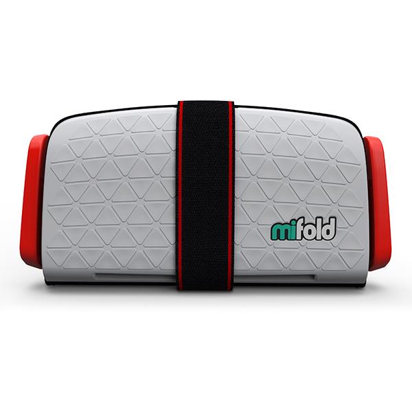 【Mifold マイフォールド】パールグレーBCMI00105【車載 携帯用チャイルドシート】