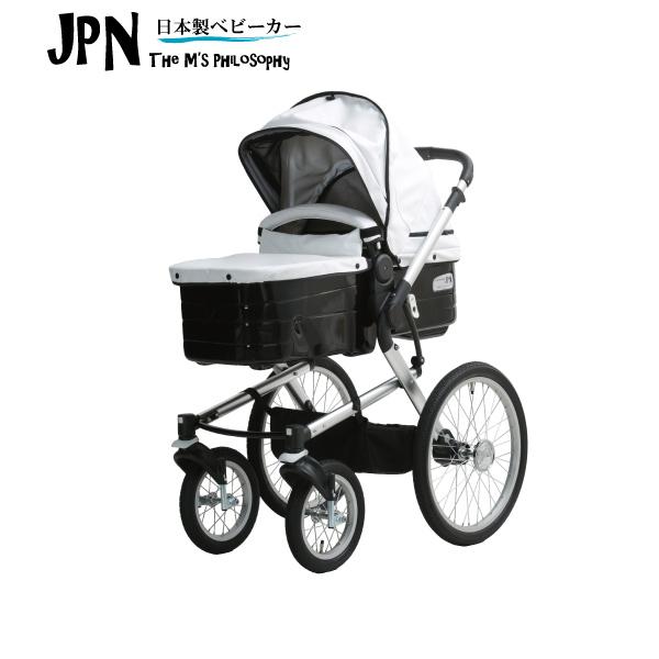 【Mizutani ミズタニベビーカー】A-KIDSベビーカーJPN(ダイヤモンドブラック)生後1か月から(JPN-03)