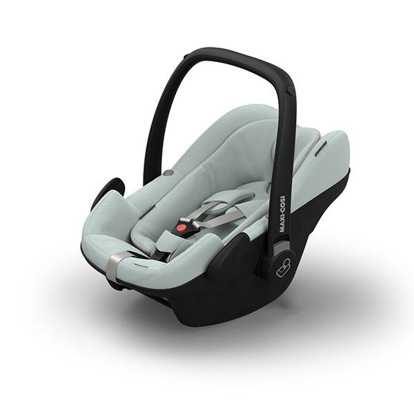 【Quinny・GMP正規販売店】FROM-BIRTH MAXI-COSIフロムバースマキシコシ新生児用ベビーシート(グレー)(ペブルプラス)【エアバギーCOCOにアダプターで取り付け可能】