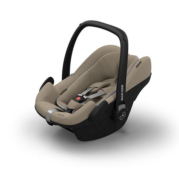 【Quinny・GMP正規販売店】FROM-BIRTH MAXI-COSIフロムバースマキシコシ新生児用ベビーシート(サンド)(ペブルプラス)【エアバギーCOCOにアダプターで取り付け可能】