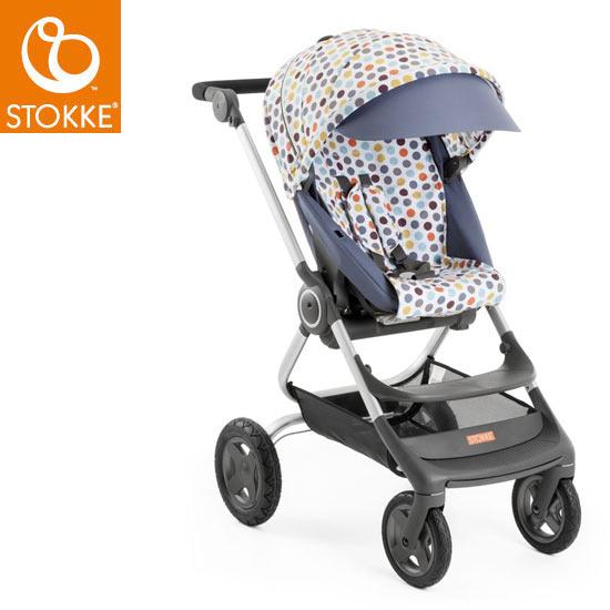 【STOKKEストッケ正規販売店】Stokke Scoot2 Style Kit ストッケ スクート2 スタイルキット (レトロドット)【スクート2 本体別売り】