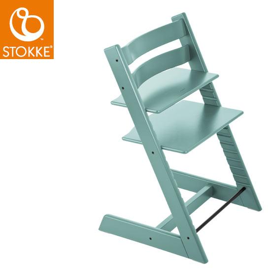 【STOKKEストッケ正規販売店】ストッケトリップトラップチェアTripp Trapp Chair(アクアブルー)【登録で7年延長保証】