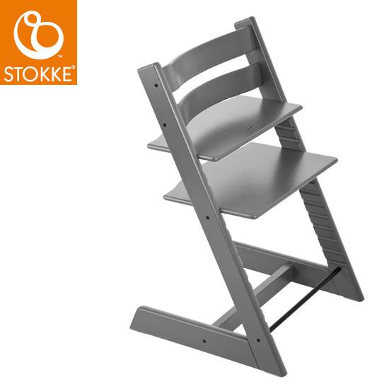 【STOKKEストッケ正規販売店】ストッケトリップトラップチェアTripp Trapp Chair(ストームグレー)【登録で7年延長保証】