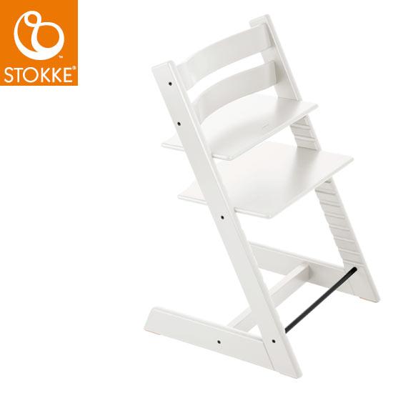 【STOKKEストッケ正規販売店】ストッケトリップトラップチェアTripp Trapp Chair(ホワイト)【登録で7年延長保証】