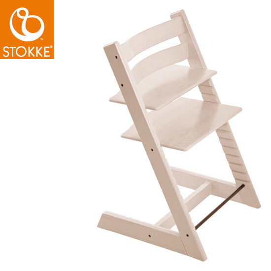 【STOKKEストッケ正規販売店】ストッケトリップトラップチェアTripp Trapp Chair(ホワイトウォッシュ)【登録で7年延長保証】